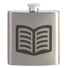 Open Book Flask