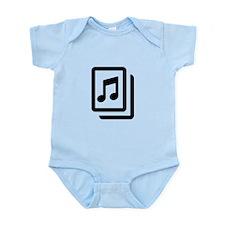 Sheet Music Infant Bodysuit