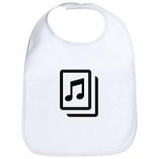 Sheet Music Bib