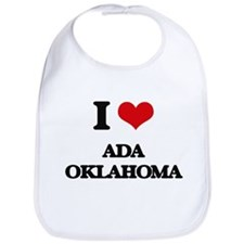 I love Ada Oklahoma Bib