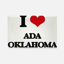 I love Ada Oklahoma Magnets