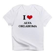 I love Alva Oklahoma Infant T-Shirt
