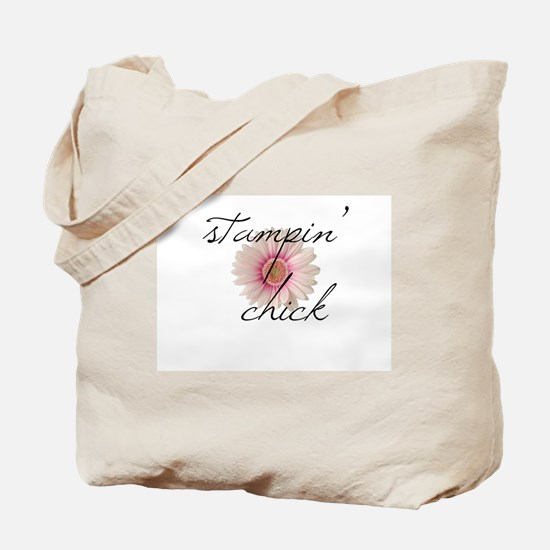 Stampin Chick U Tote Bag