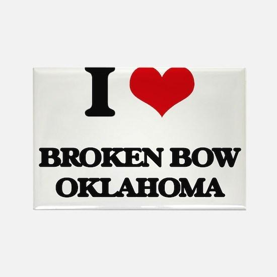 I love Broken Bow Oklahoma Magnets