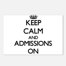 Keep Calm and Admissions Postcards (Package of 8)