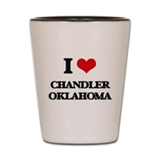 I love Chandler Oklahoma Shot Glass