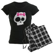 Skull with Bow Pajamas