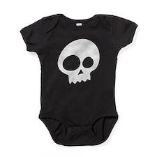 Unique Mens skull Baby Bodysuit
