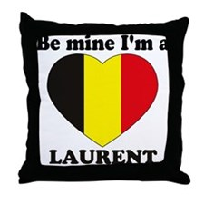 Laurent, Valentine's Day Throw Pillow