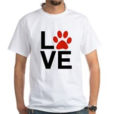 Love Dogs / Cats Pawprints Shirt