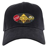 School bus driver Black Hat