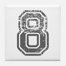 8-Col gray Tile Coaster