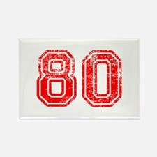 80-Col red Magnets