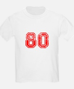 80-Col red T-Shirt