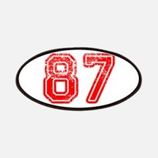 87-Col red Patch