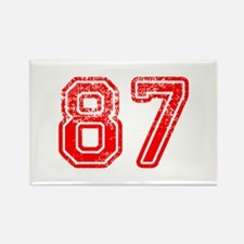 87-Col red Magnets
