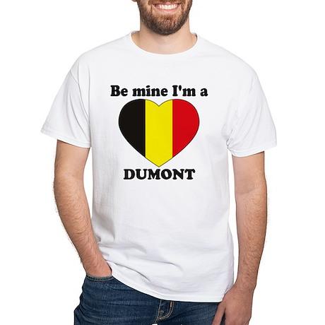 Dumont, Valentine's Day White T-Shirt