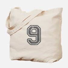 9-Col gray Tote Bag