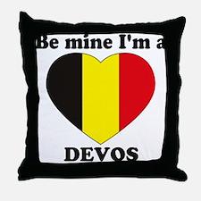 Devos, Valentine's Day Throw Pillow