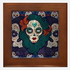 Muerto Ladies Framed Tile