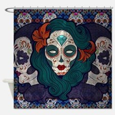 Muerto Ladies Shower Curtain