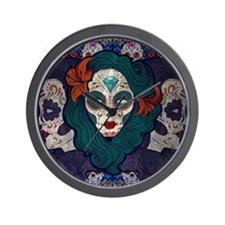 Muerto Ladies Wall Clock