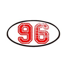 96-Col red Patch
