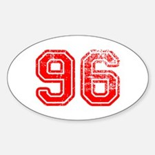 96-Col red Decal