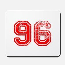96-Col red Mousepad