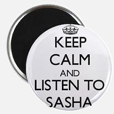 Unique Sasha Magnet