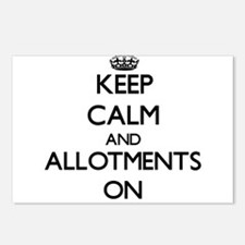 Keep Calm and Allotments Postcards (Package of 8)