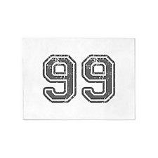 99-Col gray 5'x7'Area Rug