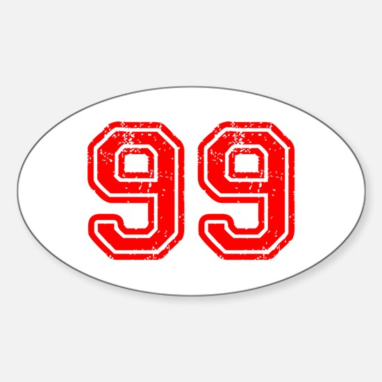 99-Col red Decal