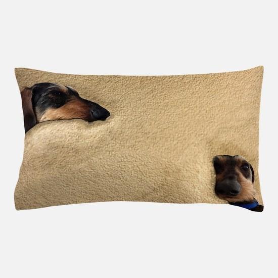 Cute Miniature dachshund Pillow Case