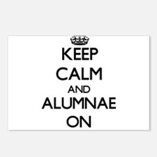 Keep Calm and Alumnae ON Postcards (Package of 8)