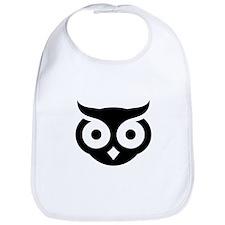 Old Wise Owl Bib
