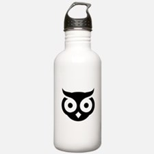Old Wise Owl Water Bottle