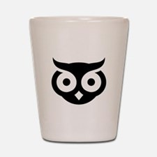 Old Wise Owl Shot Glass