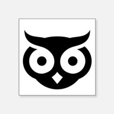 Old Wise Owl Sticker