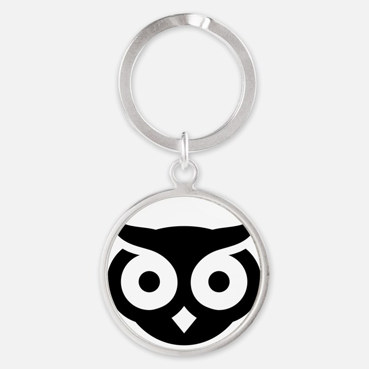 Old Wise Owl Keychains