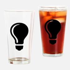 Electric Lightbulb Drinking Glass