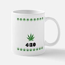 4:20 Weed Leaf shirt Mugs