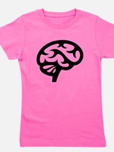 Human Brain Girl's Tee