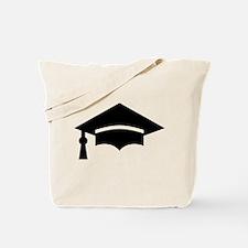 Graduation Cap Tote Bag