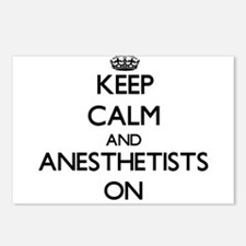 Keep Calm and Anesthetist Postcards (Package of 8)