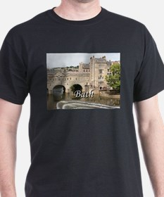 Pulteney Bridge, Avon River,Bath, England T-Shirt
