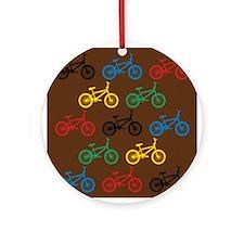 BMX Bikes Ornament (Round)