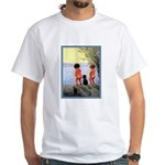 VINTAGE DOG ART White T-Shirt