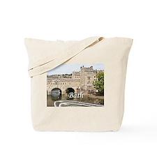 Pulteney Bridge, Avon River,Bath, England Tote Bag