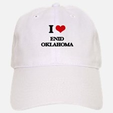 I love Enid Oklahoma Baseball Baseball Cap